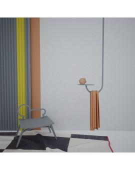 Metall Deckenrahmen mit Regal