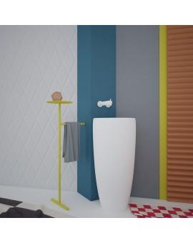 Stojak metalowy - pomocnik umywalkowy